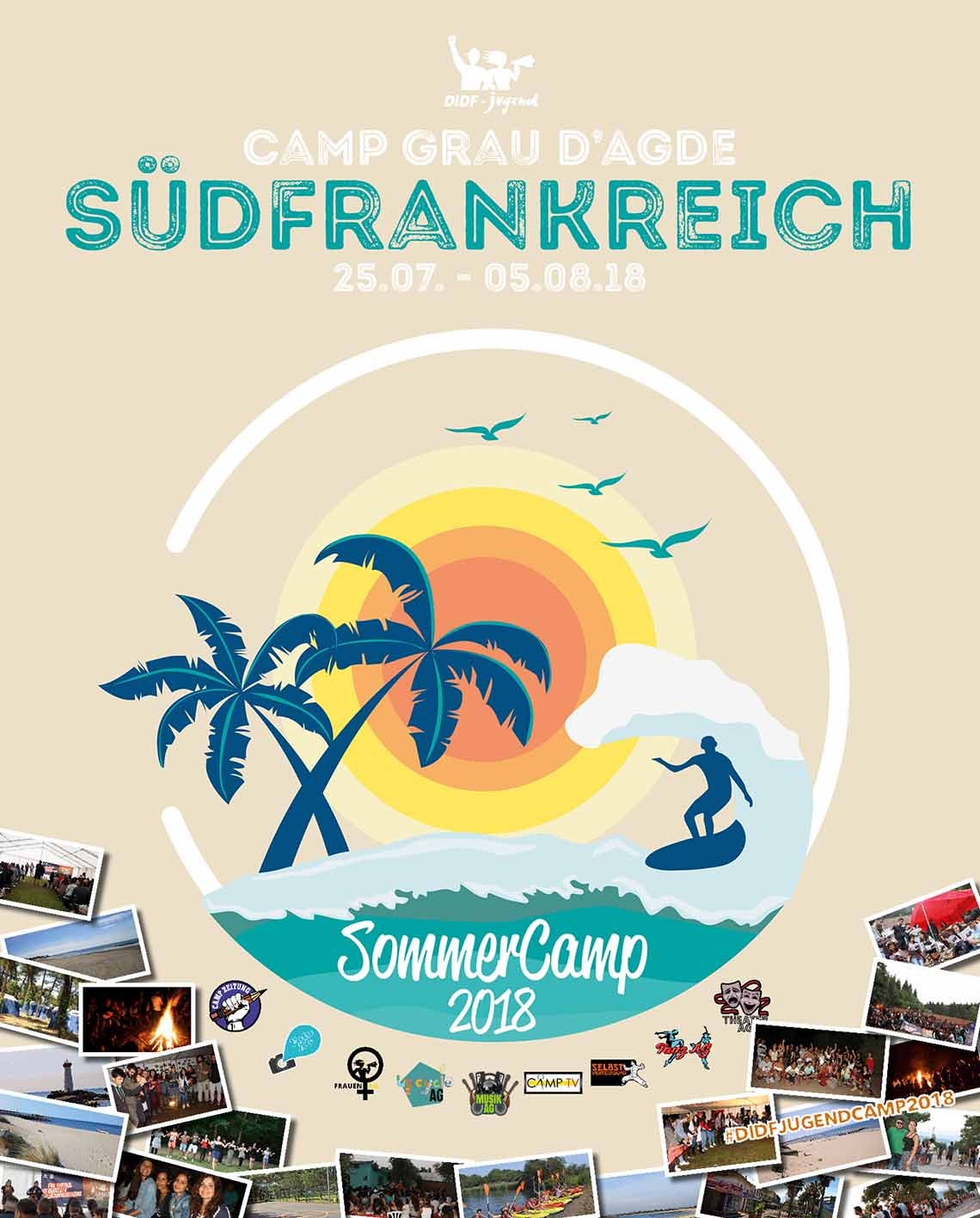 DIDF-Jugend Sommercamp 2018 in Südfrankreich